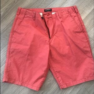 Express shorts. Excellent condition. Size 33.